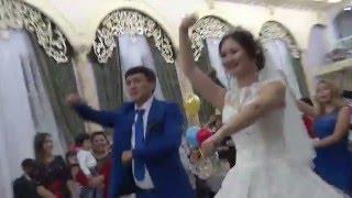 Супер флешмоб на свадьбе.Казахстан.