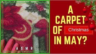 ASMR 😜Washing A Christmas Carpet In May?🌞