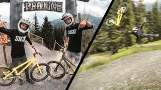 Downhill on a Trials Bike |SickSeries #52