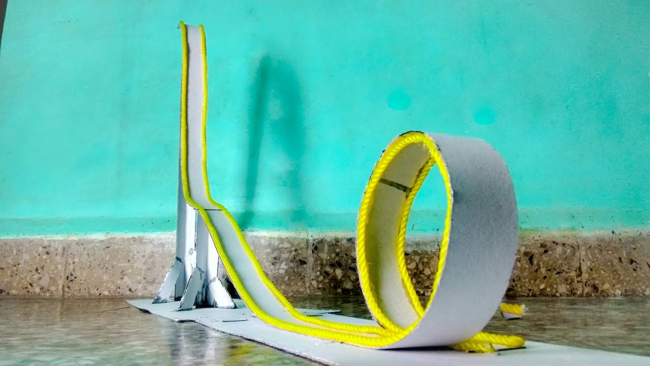 Marble Roller Coaster How To Make A Marble Rollercoaster