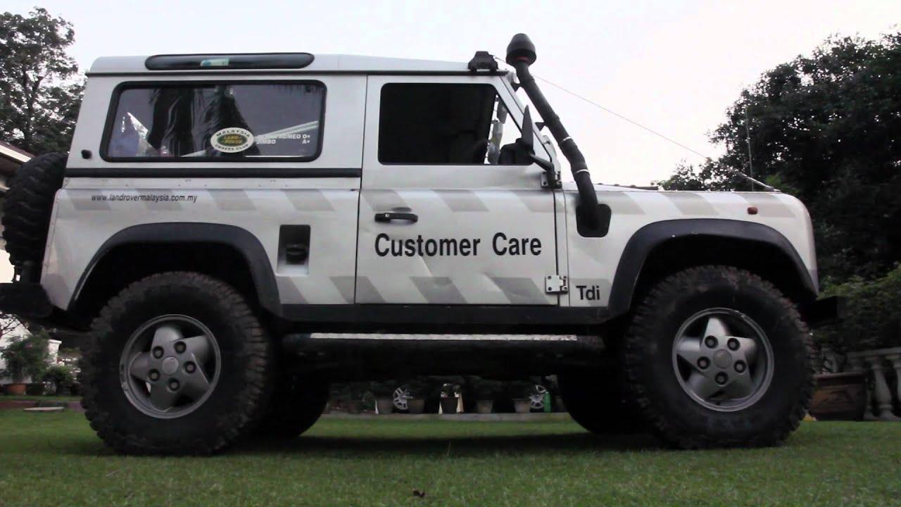 Customer Care A Malaysian Land Rover Defender 90