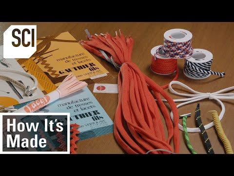 How It's Made: Shoelaces