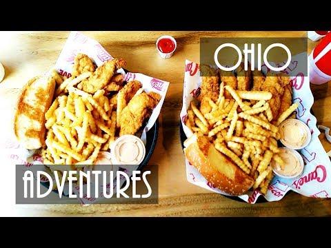 Adventures in Ohio || OSU Campus Tour || Food