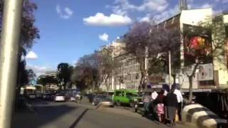 Kenyatta Avenue and Muindi Mbingu Street Intersectin Time Lapse Video