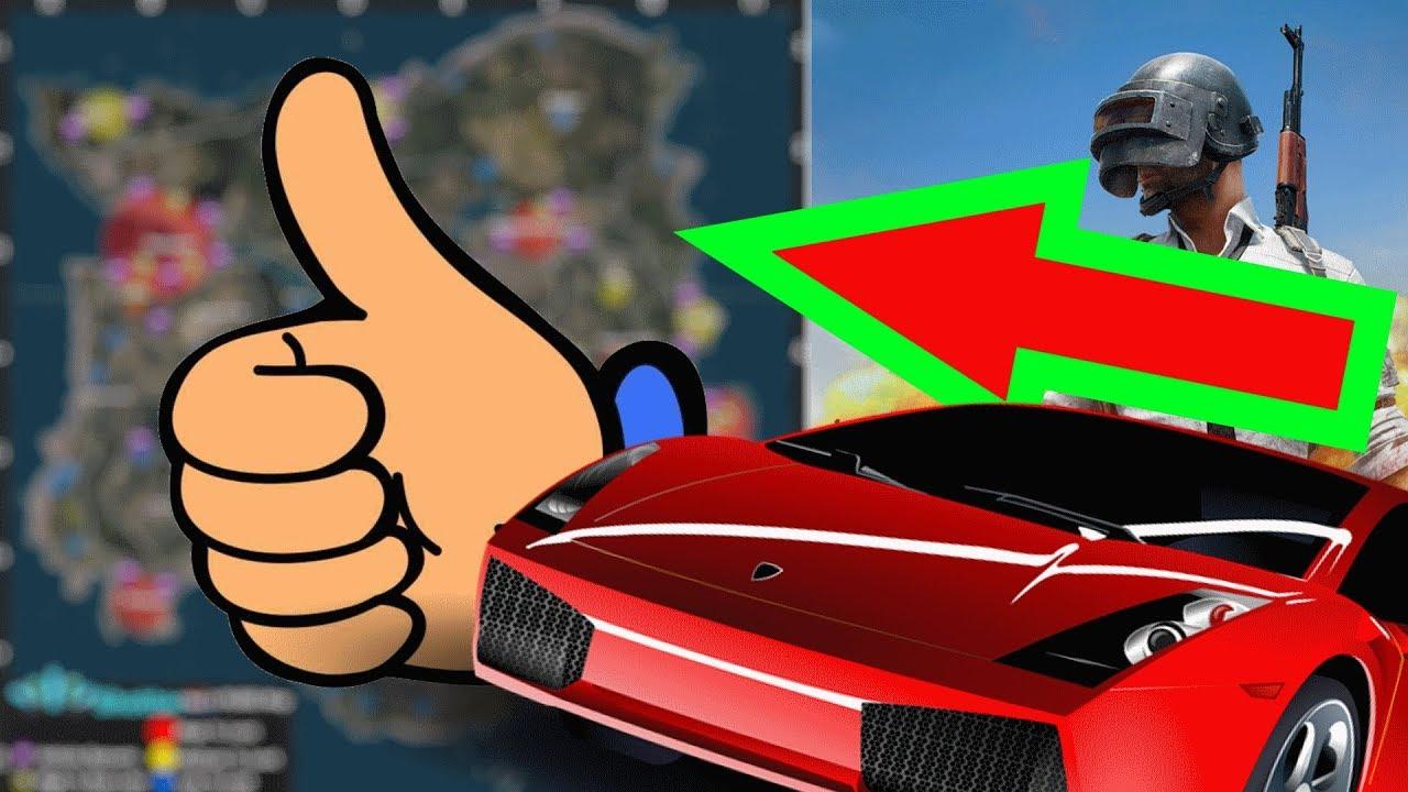 player unknown battlegrounds car spawns