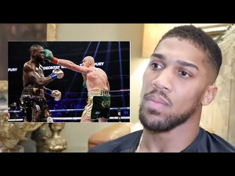 ANTHONY JOSHUA EXPLAINS WHY HE WANTS & BELIEVES TYSON FURY WILL BEAT DEONTAY WILDER IN REMATCH