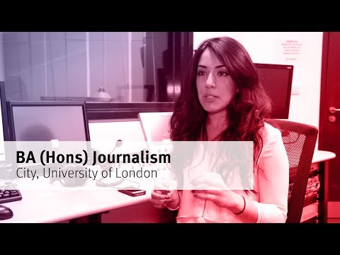 BA (Hons) Journalism at City University London