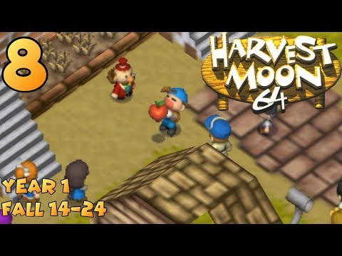 Harvest Moon 64 | All Photos Attempt [8] - Egg Festival, Carpentry, & An Annoying Song