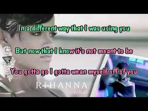 Rihanna -Rehab karaoke