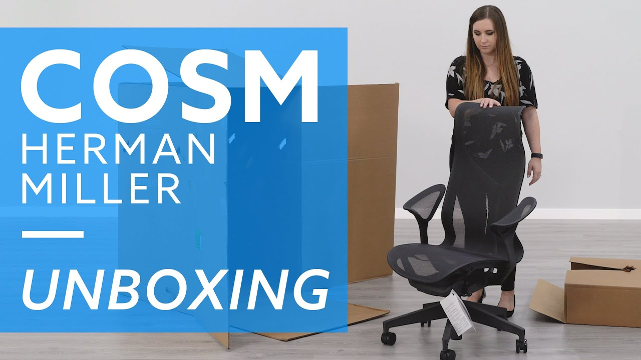 Herman Miller High Back Cosm Chair With Leaf Arms Review