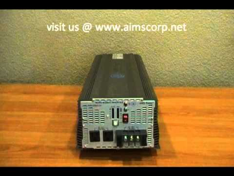 hqdefault 5000 watt power inverter industrial grade by aims youtube  at creativeand.co