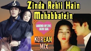Gambar cover Zinda Rehti Hain Mohabbatein(MV)| A love story|Korean Mix | Mix Bemisal