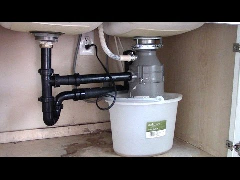 How to install a Garbage Disposal  - Step by Step