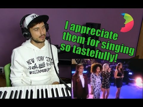 Vocal coach Yazik REACTS to Little Mix - These Four Walls Live Suprise Suprise