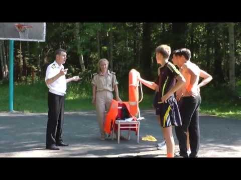 Игра по станциям в оздоровительном лагере «Елочка»