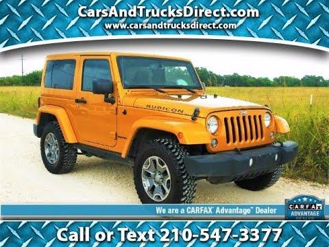 2014 Jeep Wrangler Rubicon 2 Door Review Youtube