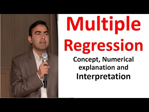 simple versus multiple regression The interpretations are more complicated than in a simple regression also multiple regression: we have new predictors, call them (x1)new.