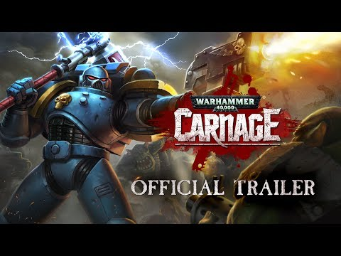 Warhammer 40,000: Carnage Official Trailer - Available on iOS & Android