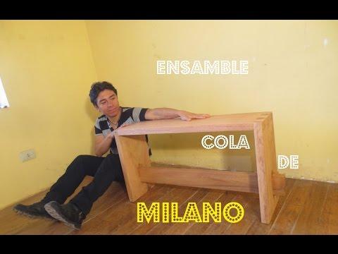 Como Hacer ENSAMBLE Cola De Milano CARPINTERA CASERA - Luis Lovon