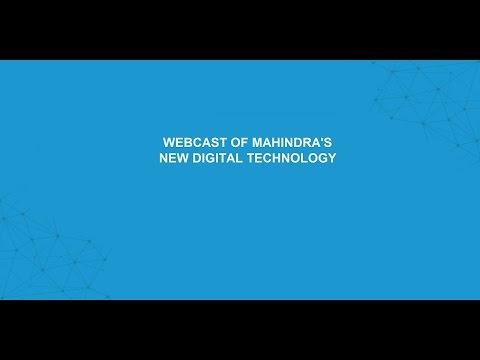 Mahindra Digital Technology Platform Launch