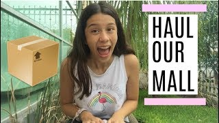 ME LLEGO UN PAQUETE SUPER COOL! HAUL OUR MALL