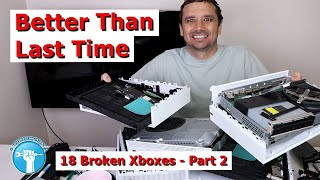 Fixed 2 Of 18 Xboxes So Far   Can   Fix More