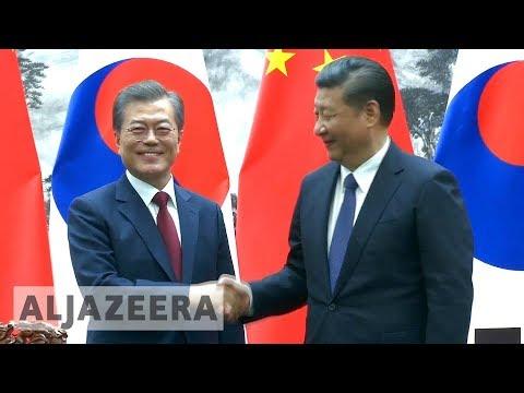 China and South Korea united over North Korea threat