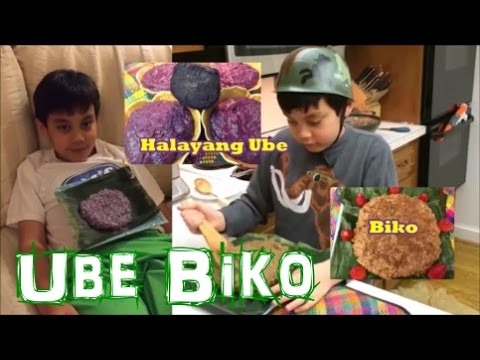 how to make biko ube