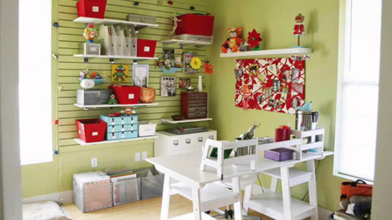 Ideas In Designing Your Home S Craft Room Youtube