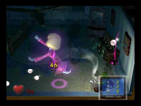 Luigi S Mansion Master Bedroom Boss Ghost Lydia And Nursery Key Youtube