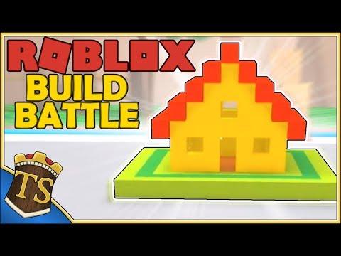 Dansk Roblox | Build Battle - Bygget Mit Hus?!