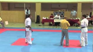 Kosumov vs. Braun - VIENNA OPEN - Erstes offenes internationales Kyokushin-Kan Karate Turnier
