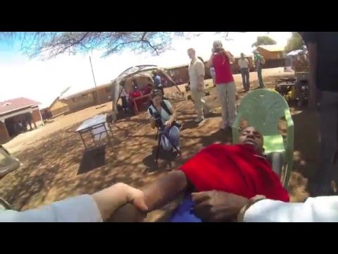 Chiropractic in Kenya - On the Rise - Maasai Adjustment filmed with Go Pro System