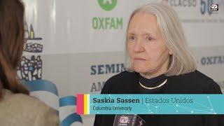 """Saskia Sassen: """"Hay una especie de captura del Estado por parte de las élites"""""""