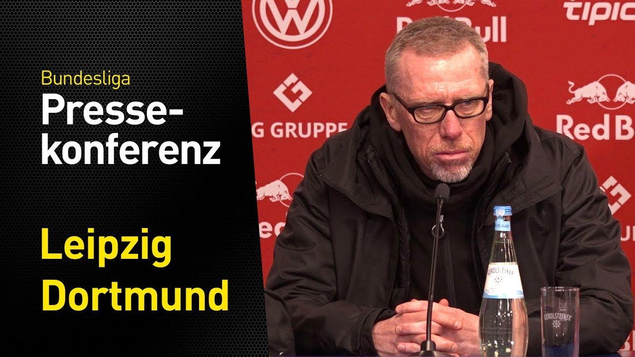"""""""Ein sehr gutes Fußballspiel""""   Peter Stöger   Leipzig - BVB 1:1"""