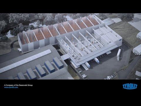 TYROLIT - New Warehouse Benátky, Czech Republic