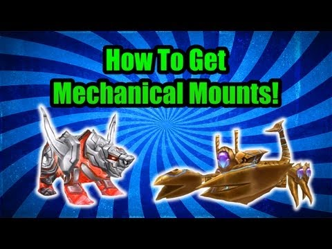 Order & Chaos Online - How To Get Mechanical Mounts!
