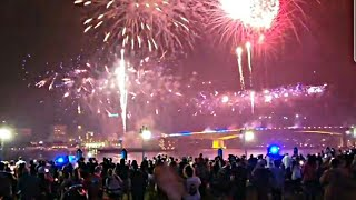 New Year 2022 COUNTDOWN!!  Fireworks in Jacksonville Florida USA | Happy 4th of July celebrations