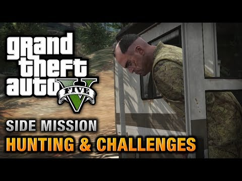 GTA 5 - Hunting & Challenges