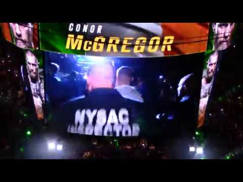 Conor McGregor's Gangsta UFC 205 Entrance To 50 Cent's