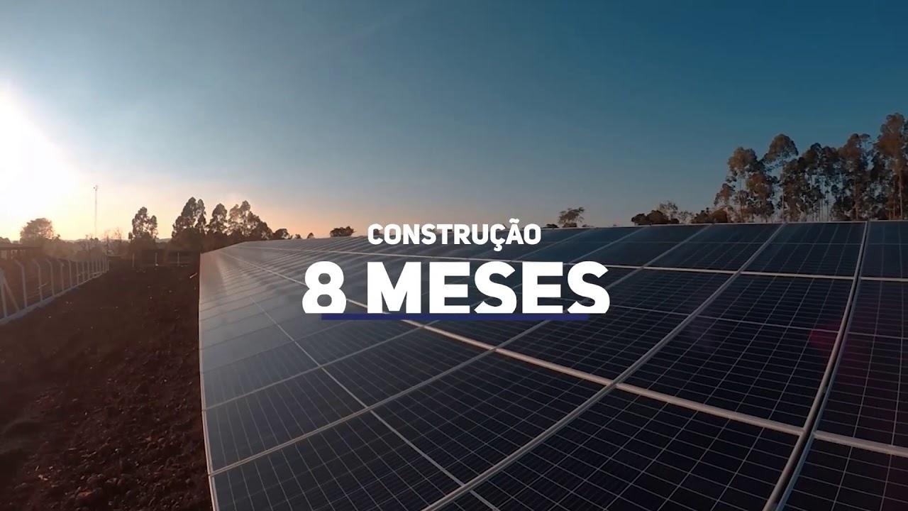 Unifique inaugura usina solar particular