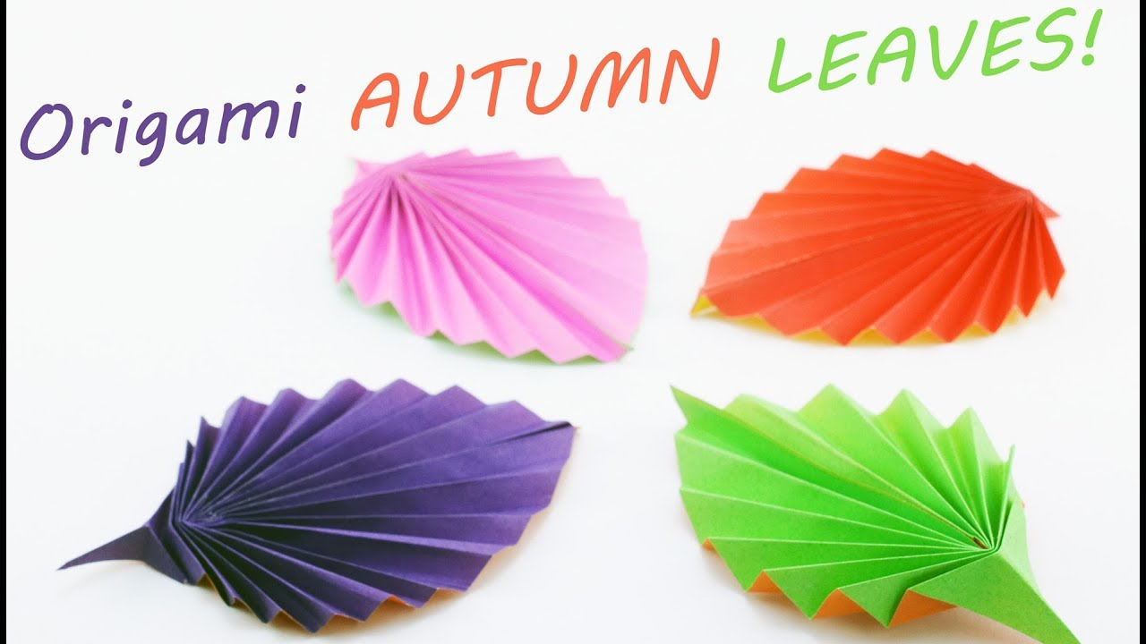 origami instructions | Major Project Design | Origami leaves ... | 720x1280