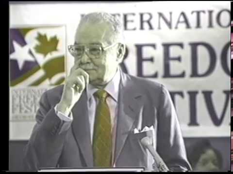 April 9, 1990 International Freedom Festival Press Conference