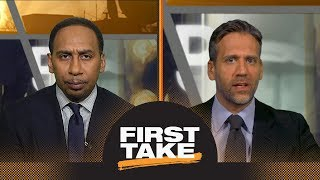stephen a and max react to kevin durants response to lebron james comparison first take espn