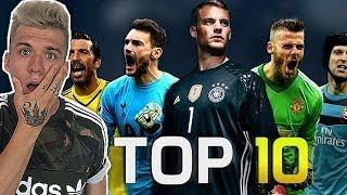 Die 10 BESTEN Torhüter der Welt 2018 (Neuer, Buffon, De Gea ...)
