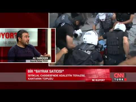 Tutuklanan bayrakçı CNN TÜRK'e konuştu!