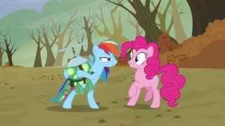 Rainbow Dash enojada