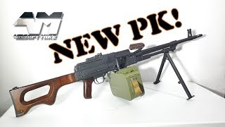 a&K PK / NEW! / Airsoft Unboxing / NOT A&K PKM