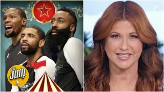Rachel Nichols breaks down what the James Harden trade makes the Nets look like | The Jump