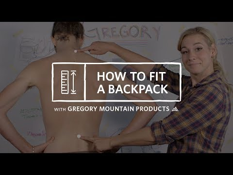 How to Fit Your Backpack